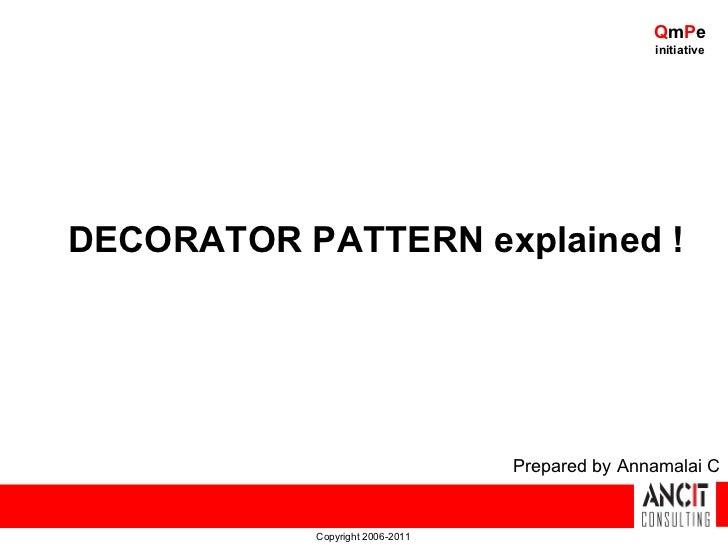 QmPe                                                initiativeDECORATOR PATTERN explained !                               ...