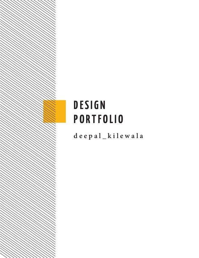 Design portfolio 2014 - Deepal Kilewala