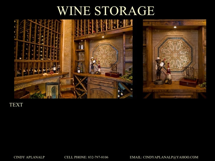 Design Portfolio Wine Grotto