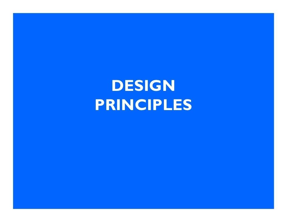 DESIGN PRINCIPLES