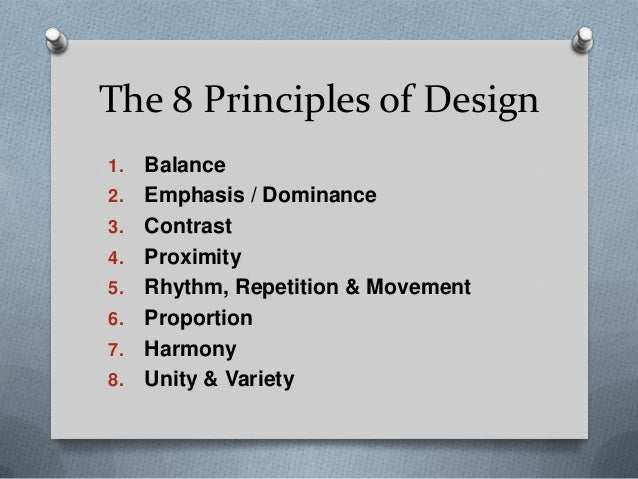 Principles Of Design Value : Design principles