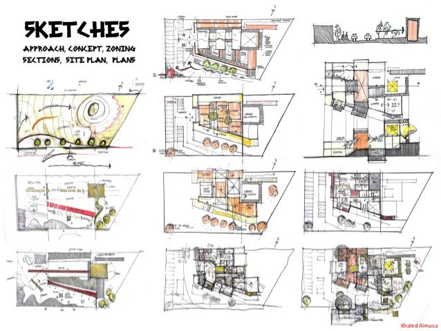 Architectural Conceptual Design Process Steps