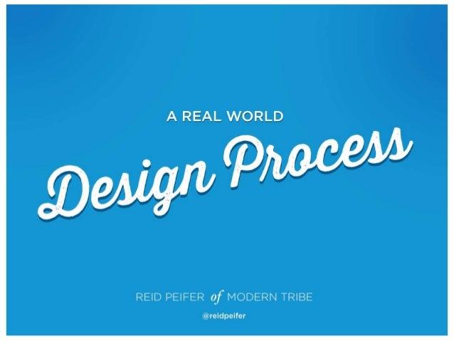 A Real World Design Process