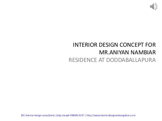 Quotation For Interior Design Interior Design Proposal