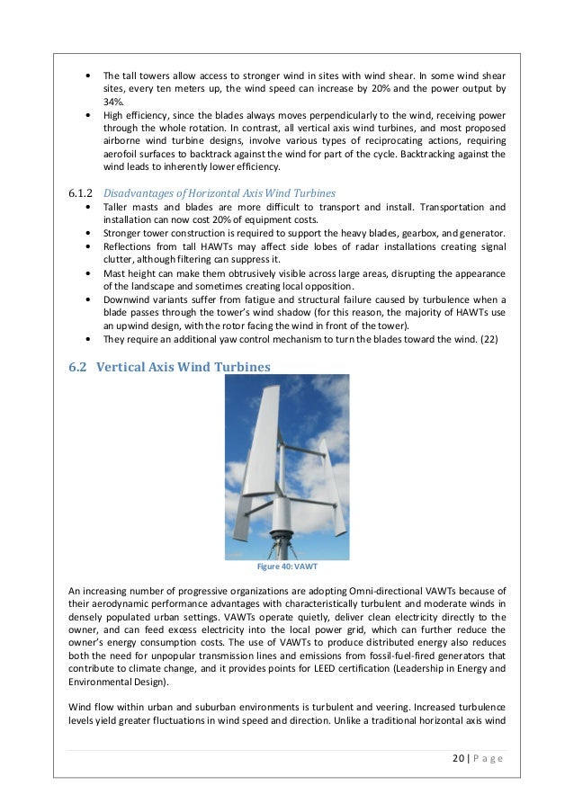 Wind Shear Wind Turbines in Some Wind Shear Sites