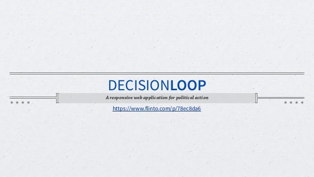 DecisionLoop: Design Specification