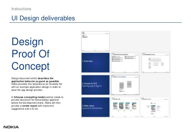 design proof of concept ui design deliverables instructions design ARpFNTF5