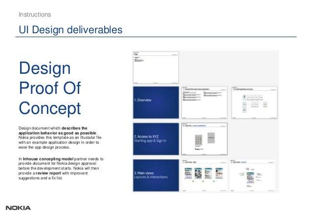 design proof of concept ui design deliverables instructions design ARpFNTF5