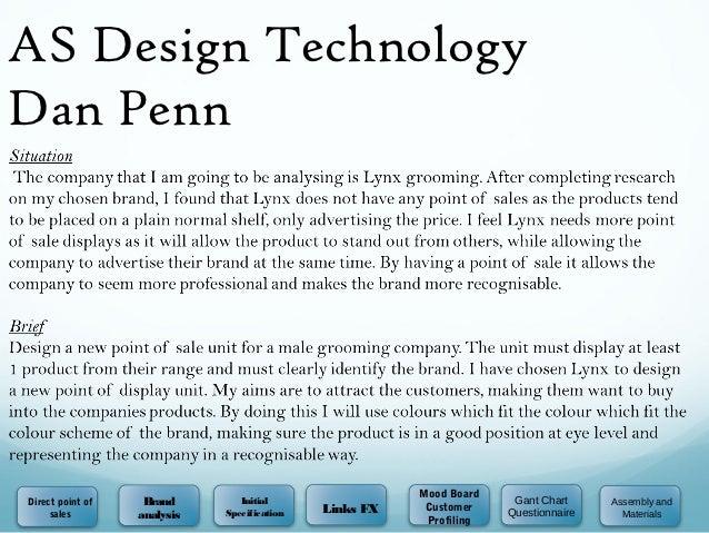 AS Design TechnologyDan Penn                                                        Mood BoardDirect point of    Brand    ...