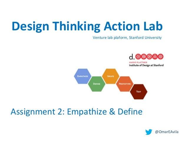 Design thinking. empathize & define