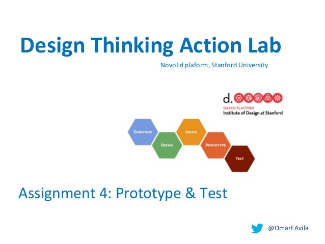 Design thinking. Prototype & Test