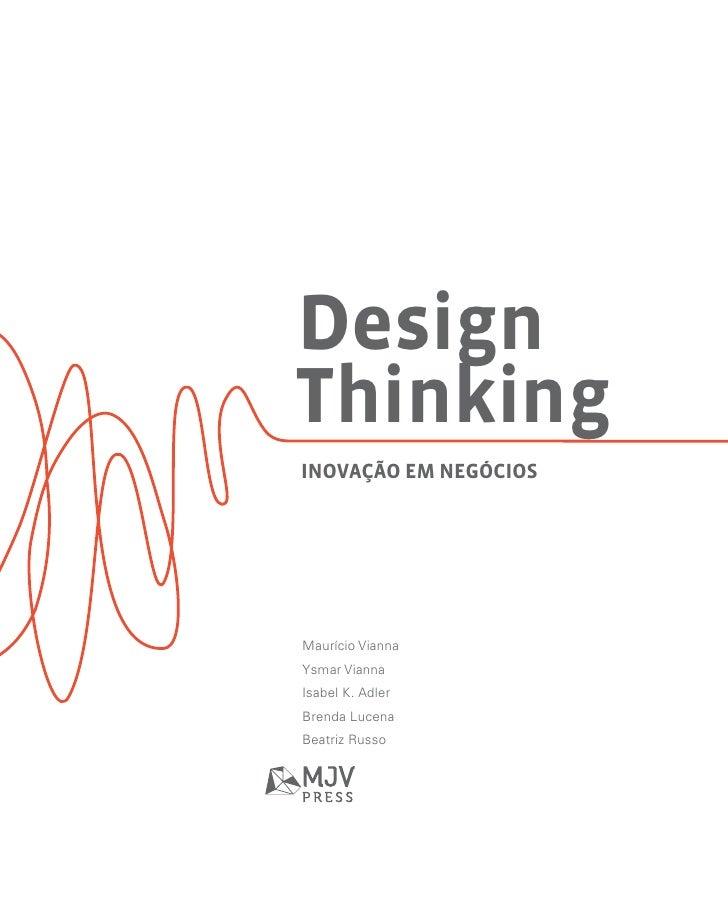 Design thinking   inovação em negócios