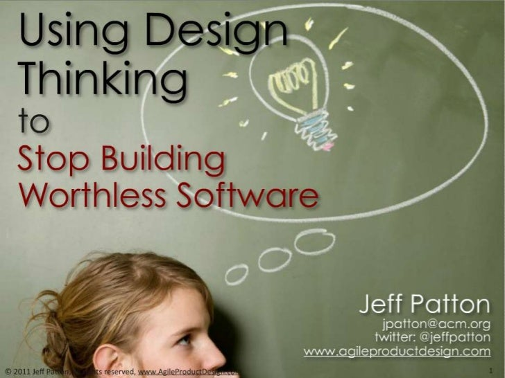 Design thinking & Software Development