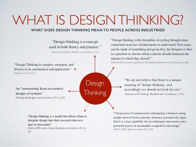 Design Thinking A Critical Review
