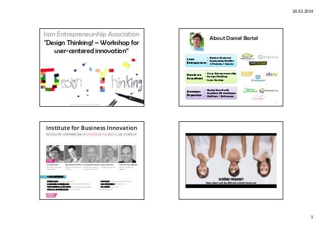 Design Thinking Principles - Daniel Bartel