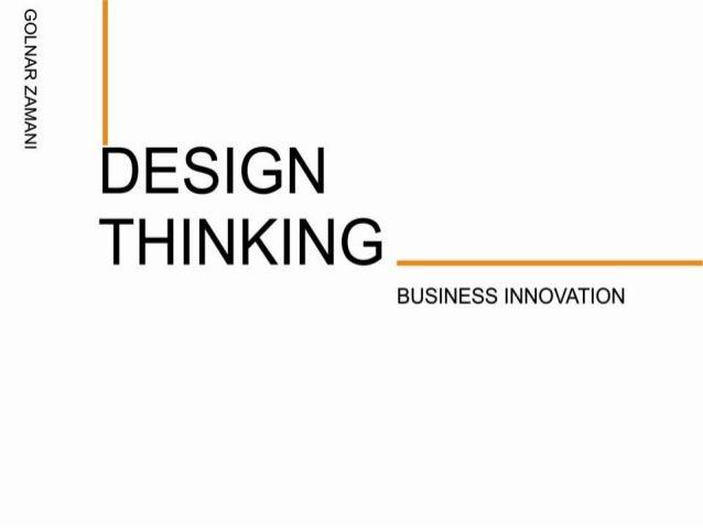 Design thinking powerpoint