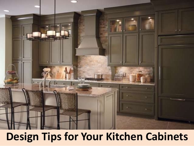 Design Tips For Your Kitchen Cabinets