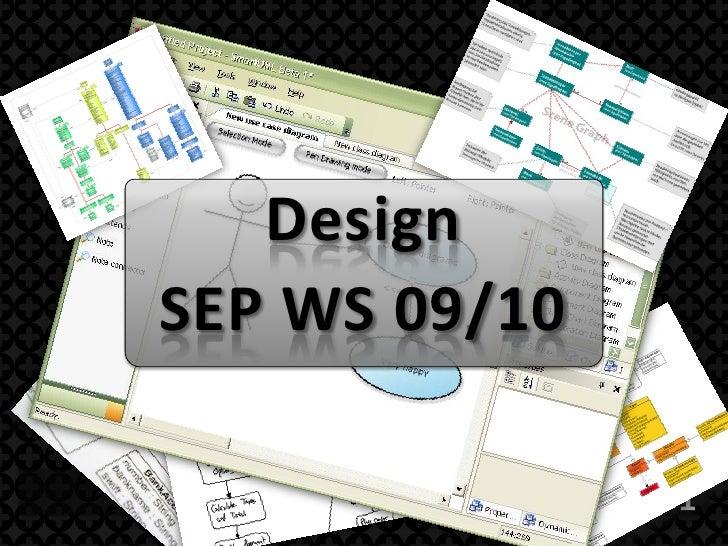 Design SEP WS 09/10