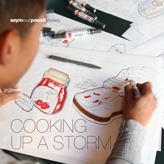 Cooking Up a Storm - Using Design in Food Innovation