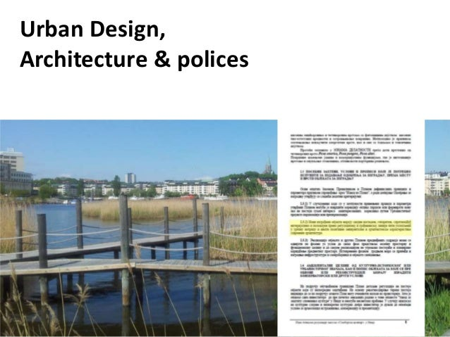Design with policies, lecture by Petar Vranic, 4 July 2013