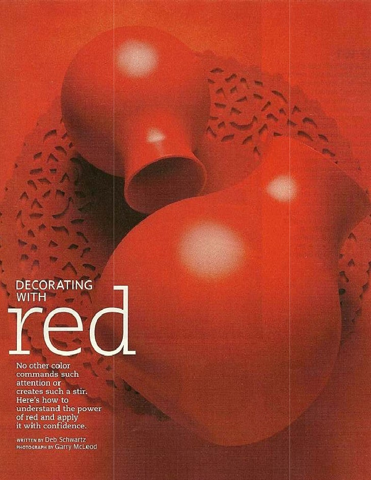 Design With Red