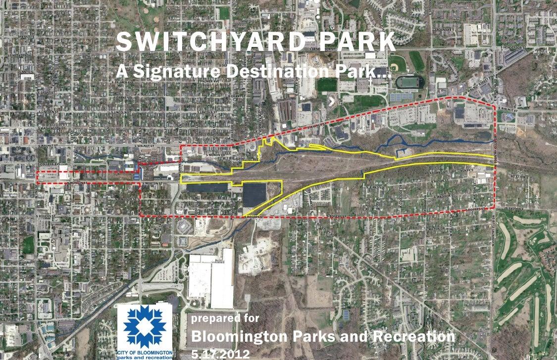 Switchard Park Master Plan | Design Workshop