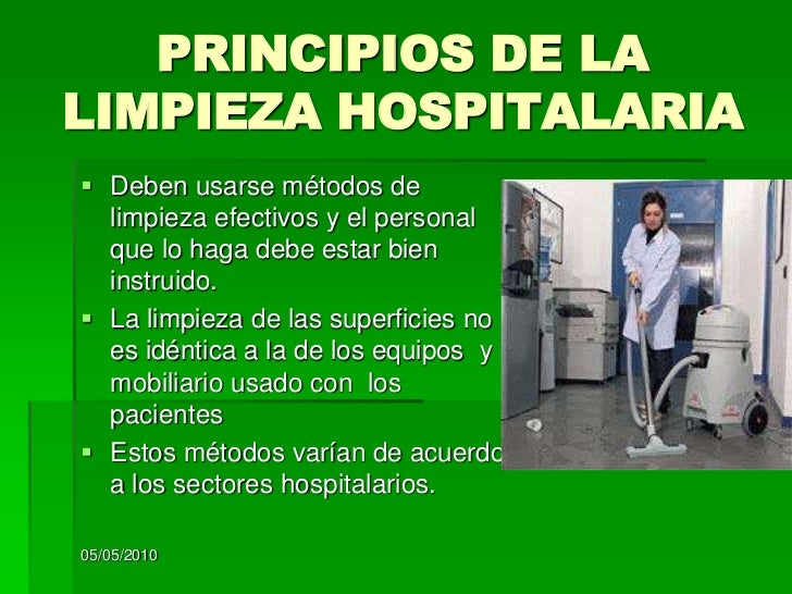 Desinfeccion de quirofanos Limpieza y desinfeccion de equipos