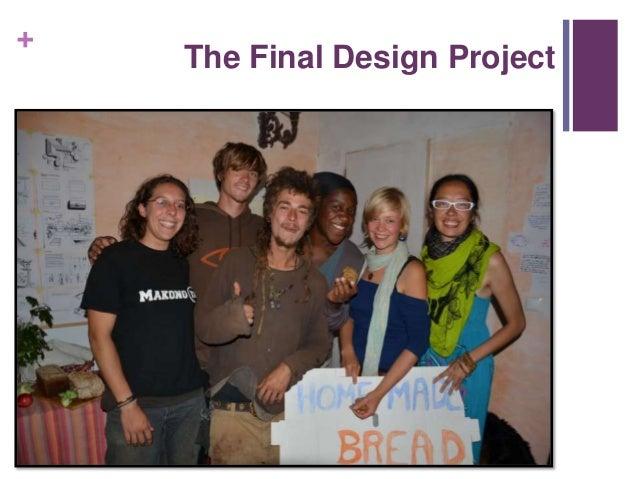 Desing process and presentation