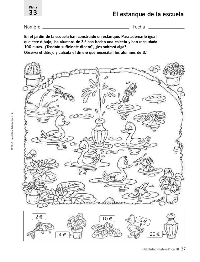 Actividades para el desarrollo de la inteligencia 3 de for Actividades para jardin