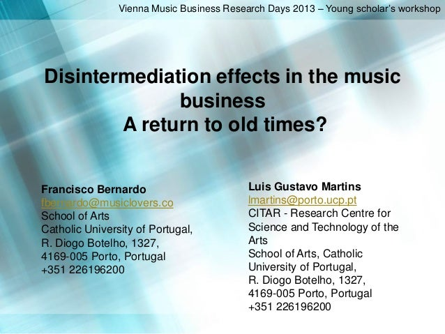 Desintermediation Effects for VMBRD