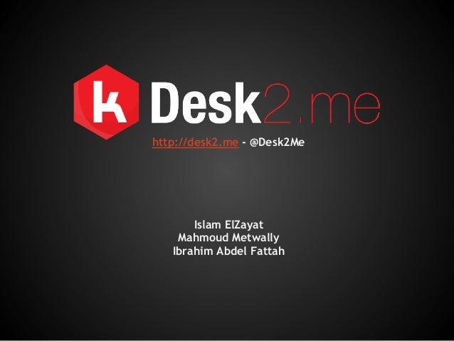 Islam ElZayat Mahmoud Metwally Ibrahim Abdel Fattah http://desk2.me - @Desk2Me