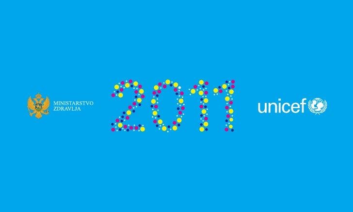 Desk calendar 2011 UNICEF Montenegro