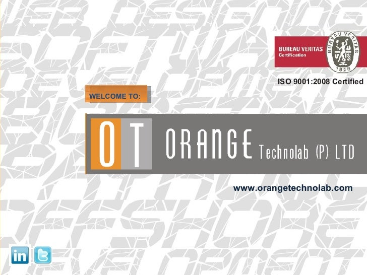 WELCOME TO: www.orangetechnolab.com
