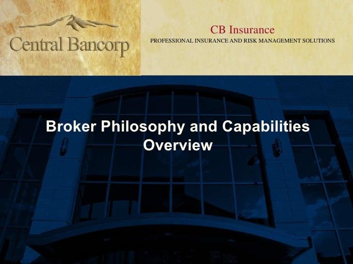 Philosophy & Capabilities Overview