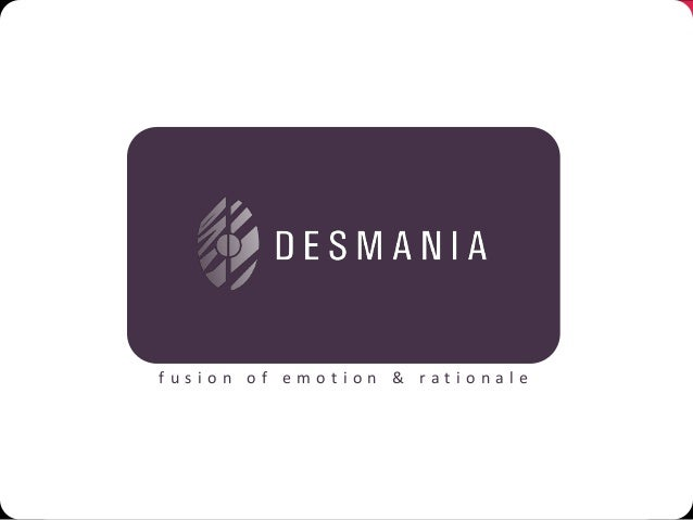 Desmania design Packaging & Product Design Profile