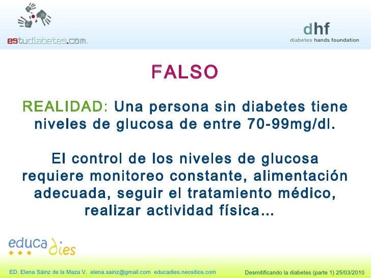 Desmitificando La Diabetes Parte 1