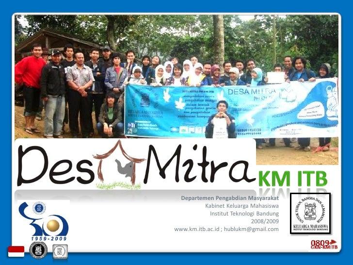 Desa Mitra KM ITB done!