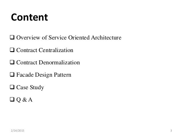 Research papers on service oriented architecture