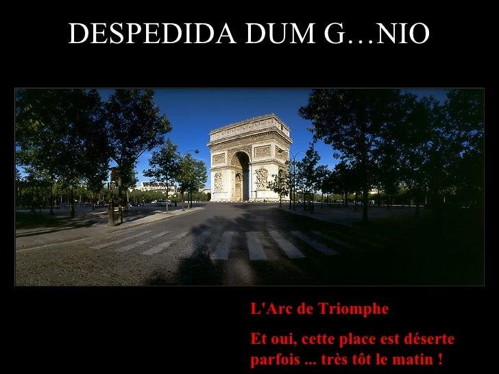 Despedida De Um Genio Paris