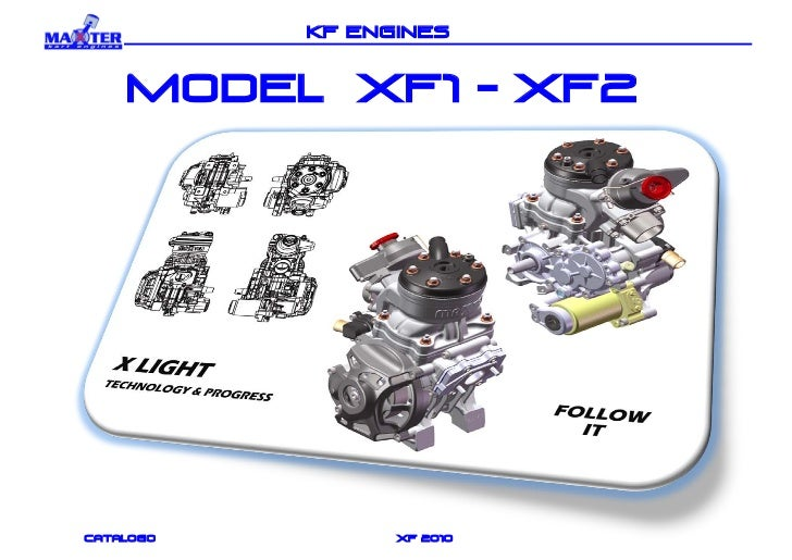 KF ENGINES    MODEL xf1 - xf2catalogo         xf 2010