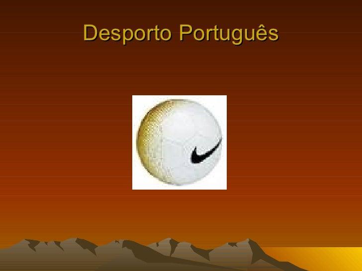 Desporto Português