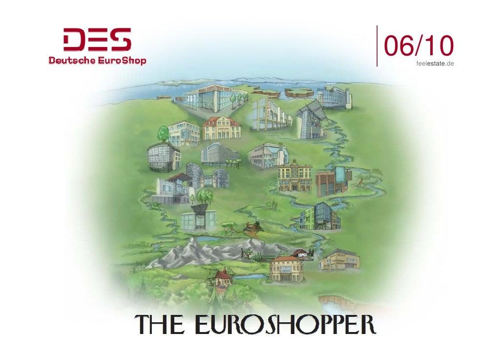 Deutsche EuroShop | Company Presentation | 06/10