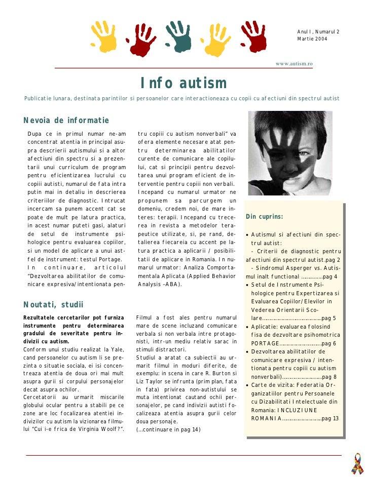 Despre Autism