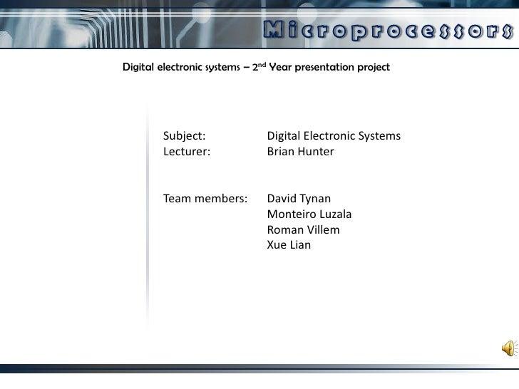 Des Presentation
