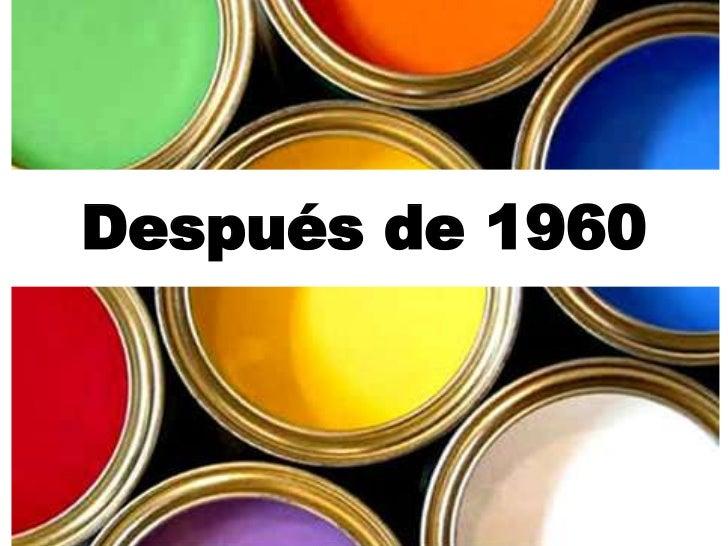 Arte y Publicidad: Después de 1960
