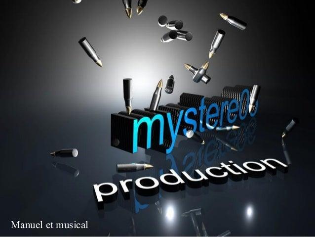 Manuel et musical