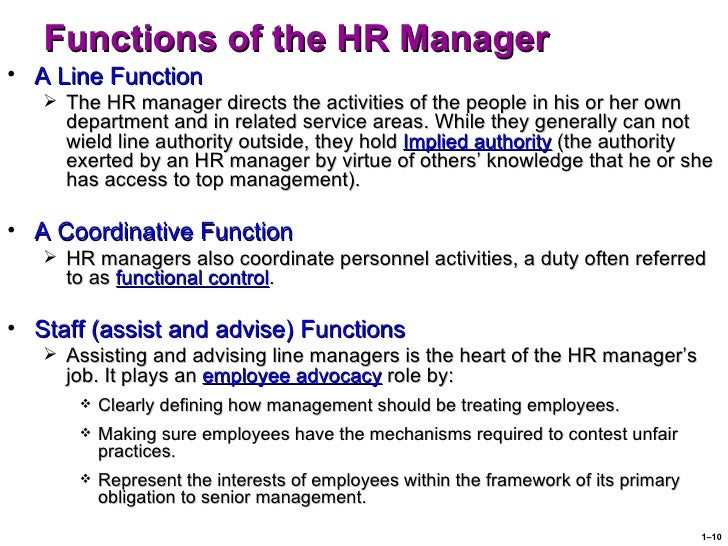 the role of hr functions in Human resources managers plan, direct, and coordinate the administrative functions of an organization they oversee the recruiting, interviewing, and hiring of new.