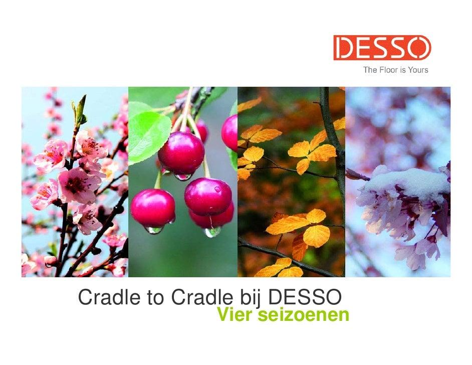Cradle to Cradle bij DESSO             Vier seizoenen