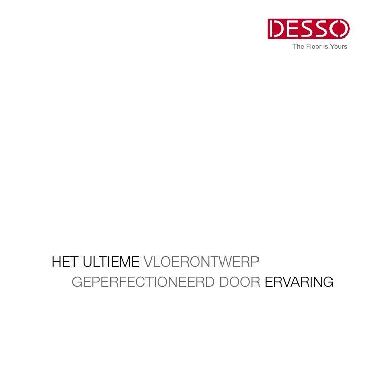 Desso Corporate brochure