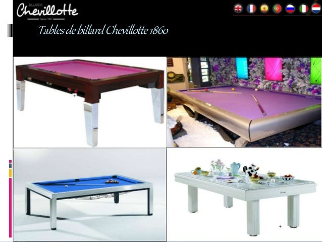 Des tables de billard qui se transforment en tables de for Table salle a manger qui se deploie